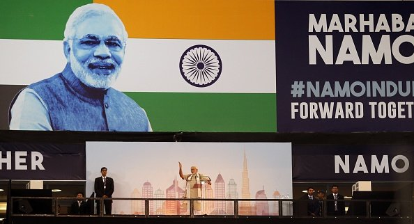 Pictures: Modi's address to 40,000 Indians in the UAE