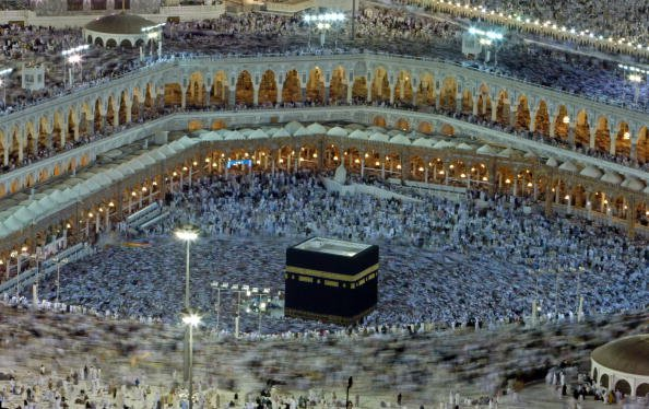 Man arrested after he tries to set himself alight at Mecca Grand Mosque