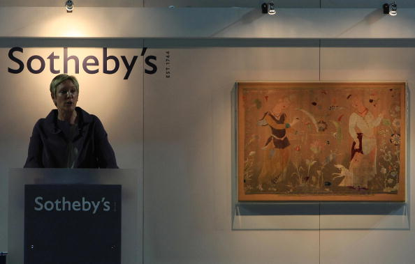 International auction house Sotheby s will offer for sale Tranquility, an  art on canvas by English artist Damien Hirst, estimated at  1 million- 1.5  million ... fb75902af6a