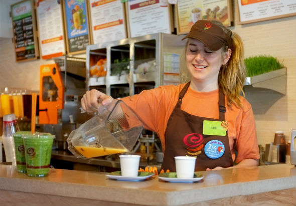 Landmark Signs ME Franchise Rights For Jamba Juice