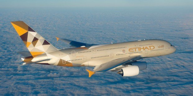 Etihad Airways' passenger numbers grow by 17% in 2015
