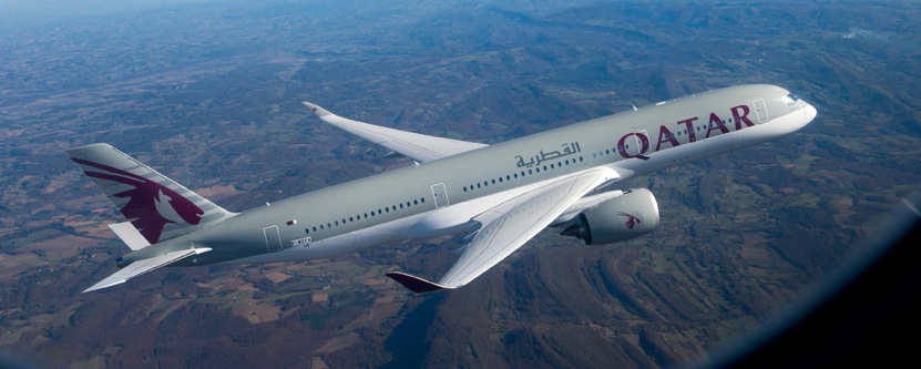 Qatar Airways Launches First A350 Flight