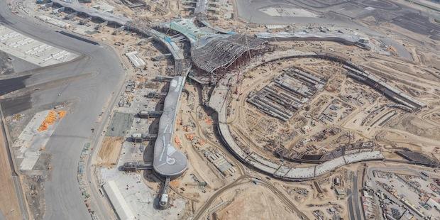 Work to begin on Abu Dhabi Midfield Terminal's external facade