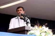 Iran's Ahmadinejad will not make presidential comeback