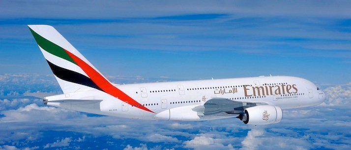 Emirates Airline Profit Rises 8% In Half Year