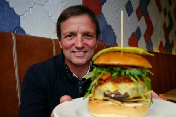 GBK's CEO on conquering the burger market