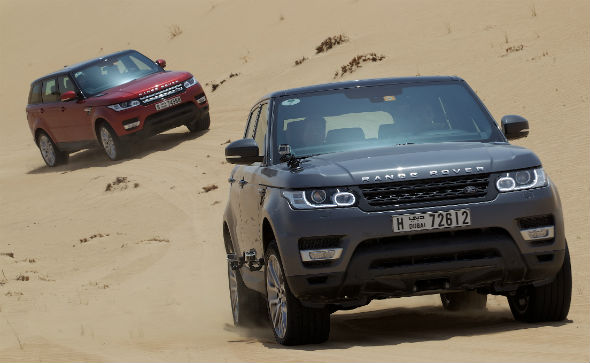 Jaguar Land Rover MENA Up 46% In Record Year
