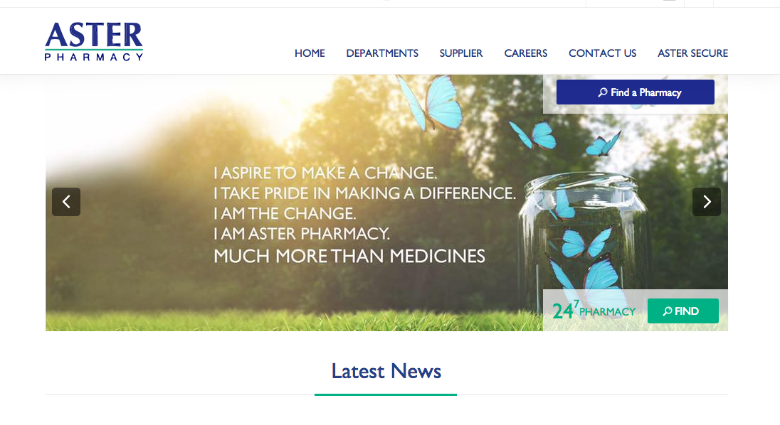 Aster launches region's first online pharmacy