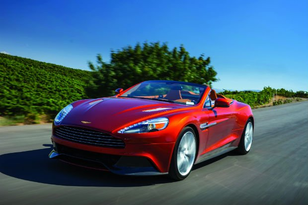 Car Review: Aston Martin Vanquish Volante