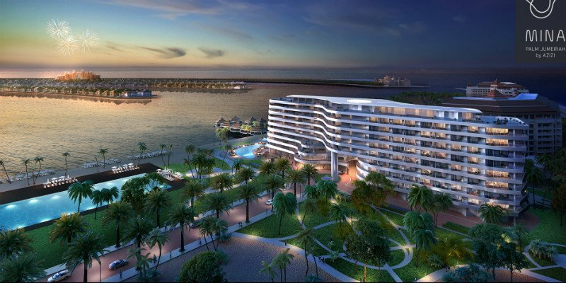 Azizi unveils Dhs750m apartment complex on Dubai's Palm Jumeirah