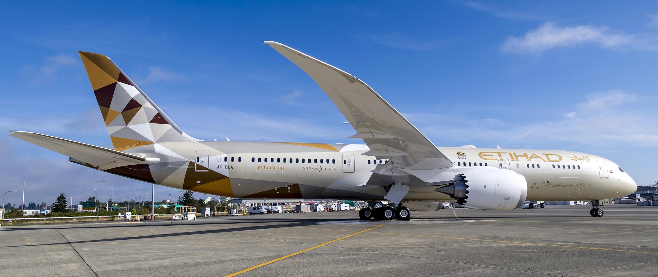 Etihad Gears Up For Washington And Mumbai B787 Flights