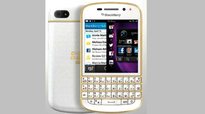 BlackBerry Launches Gold BB Q10 In UAE