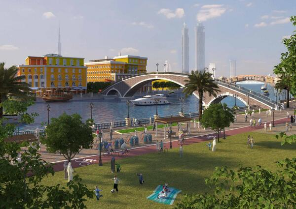 Dubai Unveils Dhs2bn Canal Project For Business Bay