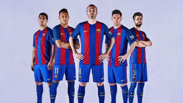 No Qatar Logo On New Fc Barcelona Kit Gulf Business