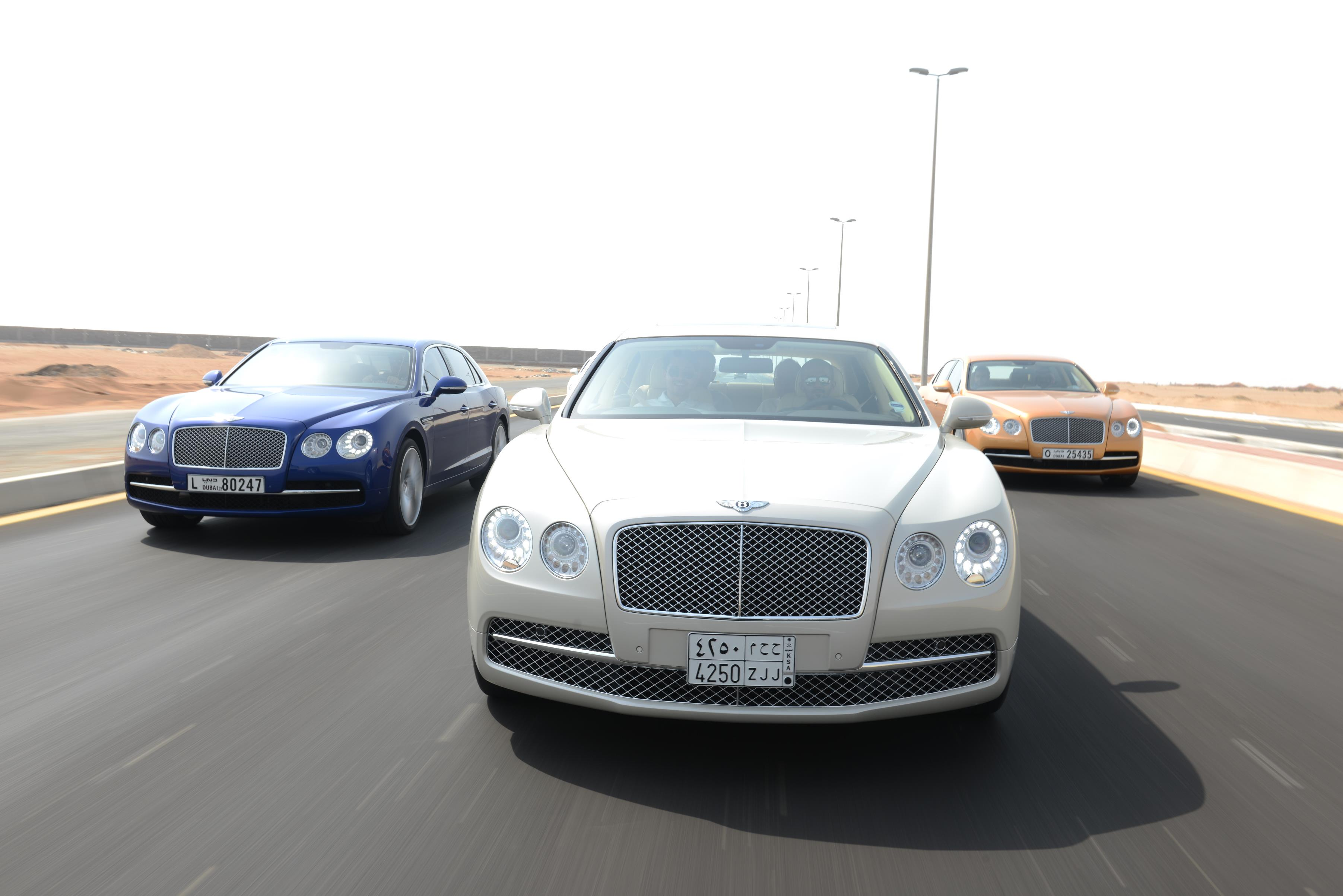 Bentley Motors Middle East Deliveries Up 30% in H1 2014
