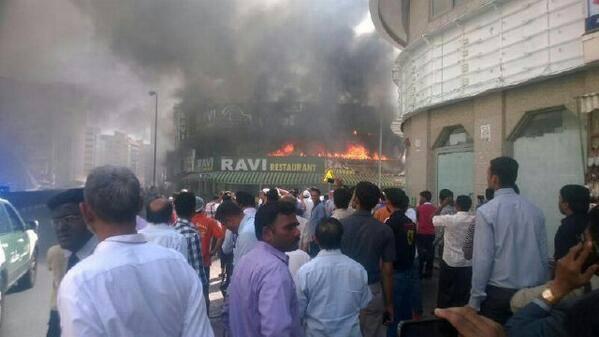 Fire Reported In Dubai's Ravi Restaurant