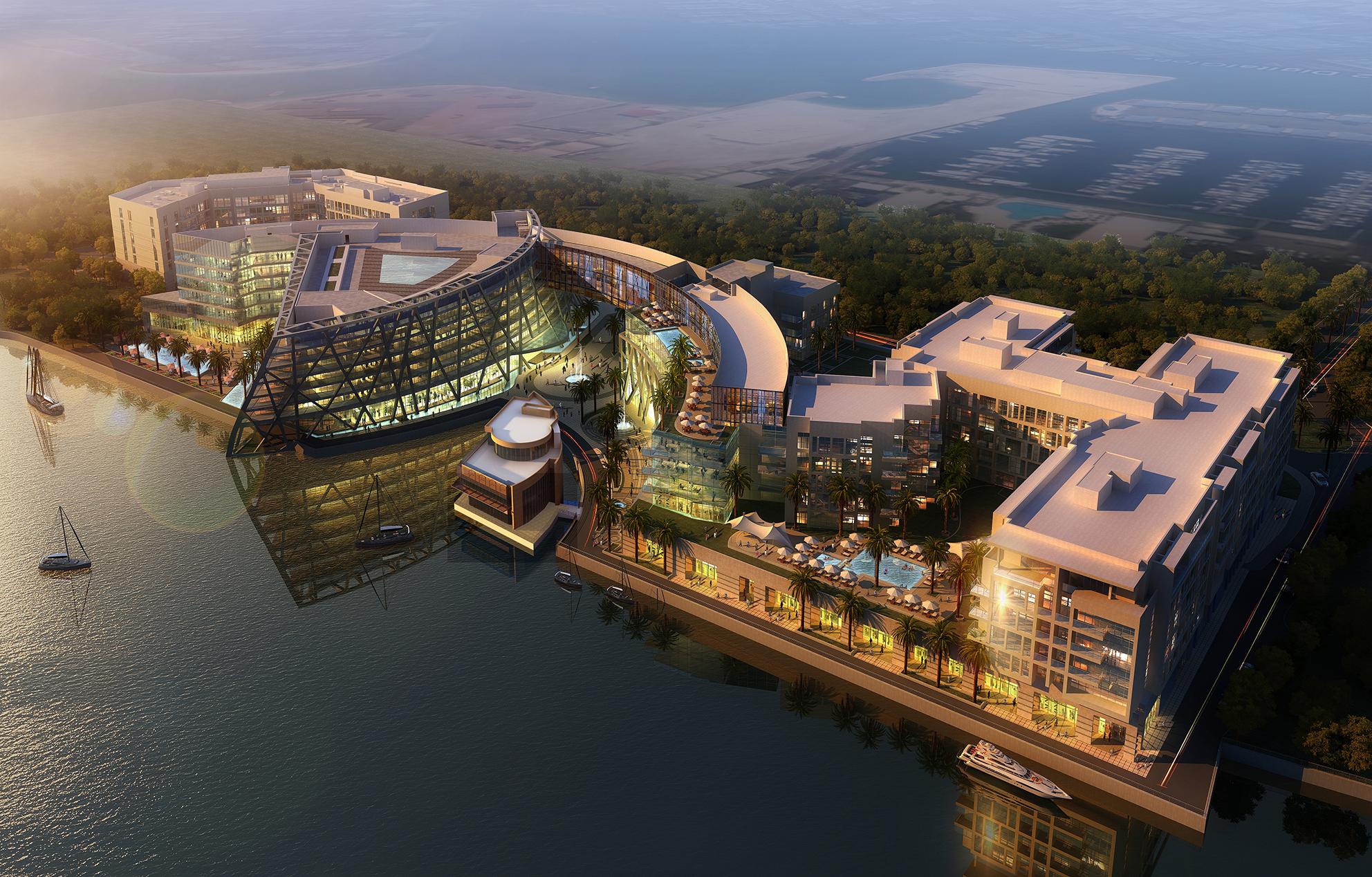 Bloom Begins Abu Dhabi Marina Construction
