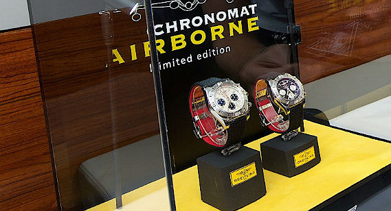 Breitling Launches New Luxury Watch On-Board Emirates A380