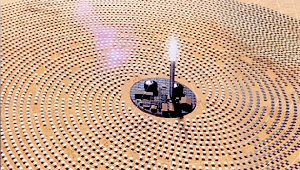 Dubai launches world's largest concentrated solar power project