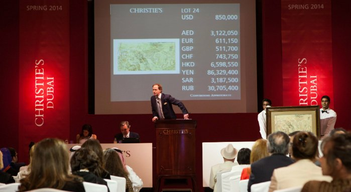 Top 10 Most Expensive Art Works Sold By Christie's In Latest Dubai Auction