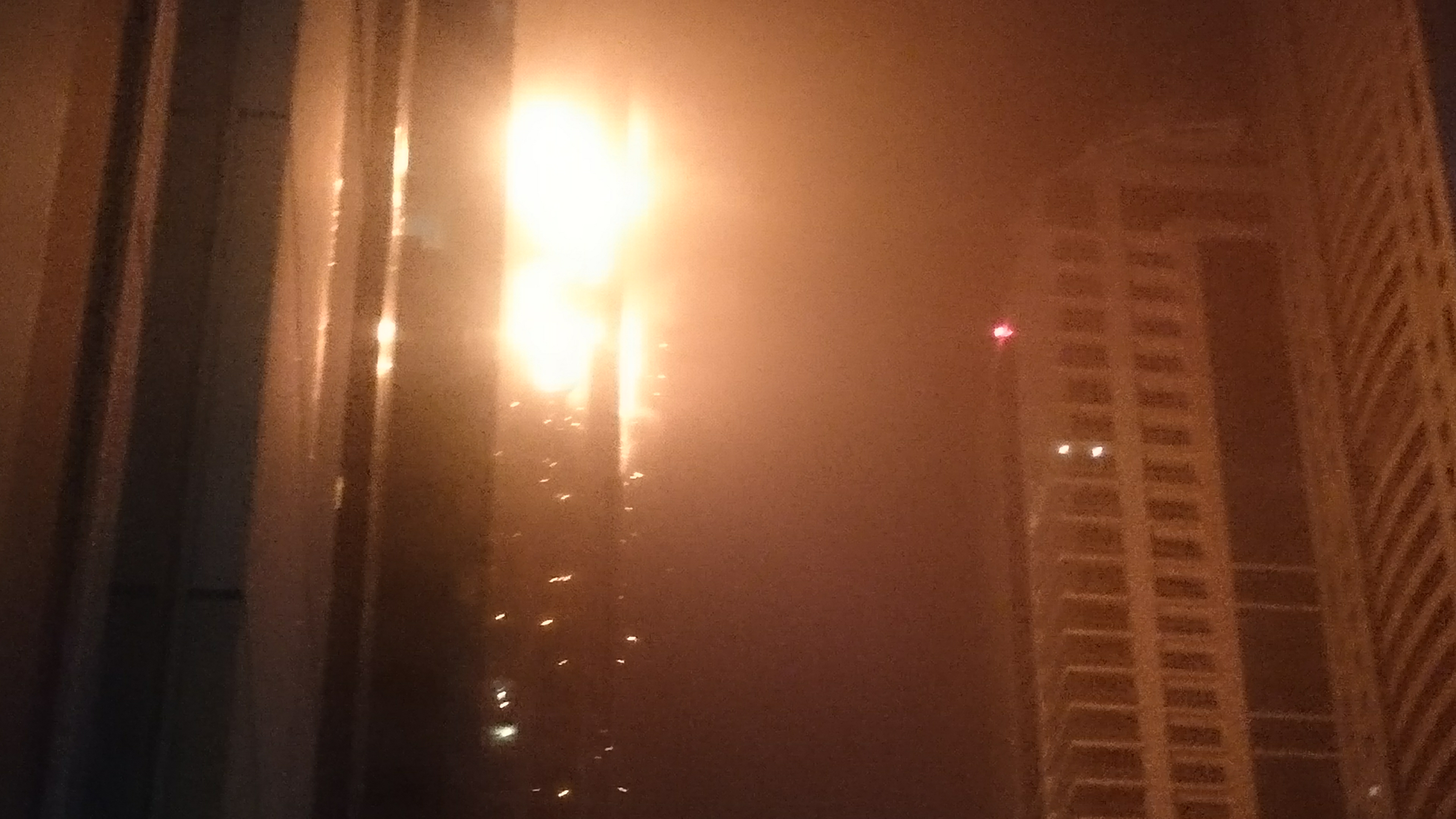 Fire Rips Through Dubai Marina's Torch Tower