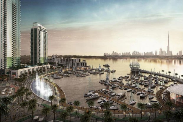 Dubai Holding, Emaar JV To Develop New Business District