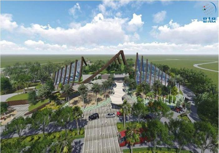 Dubai Safari, Frame to open in November