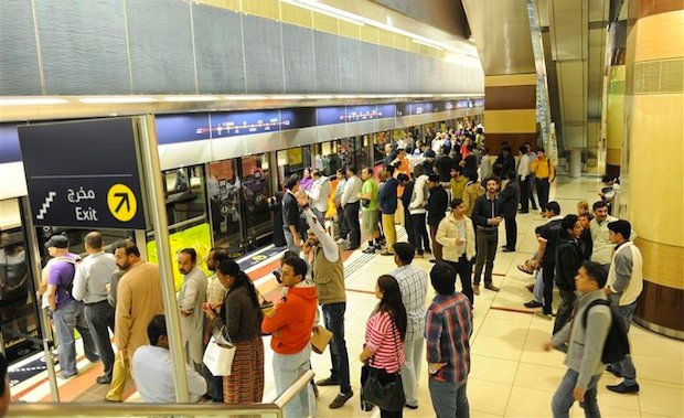 Over 270m people used public transport in Dubai during H1 2016
