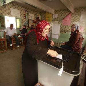 Egypt Begins Landmark Election