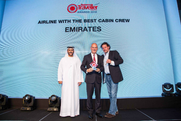Marco Pierre White presents Business Traveller Middle East Awards 2016
