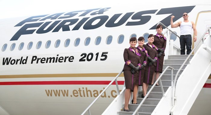 Etihad, Universal Unveil Fast & Furious Branded Boeing 777 Airplane
