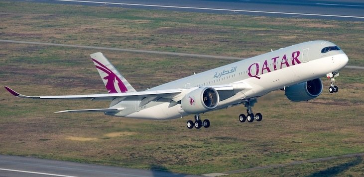 Qatar Air Receives Second Airbus A350