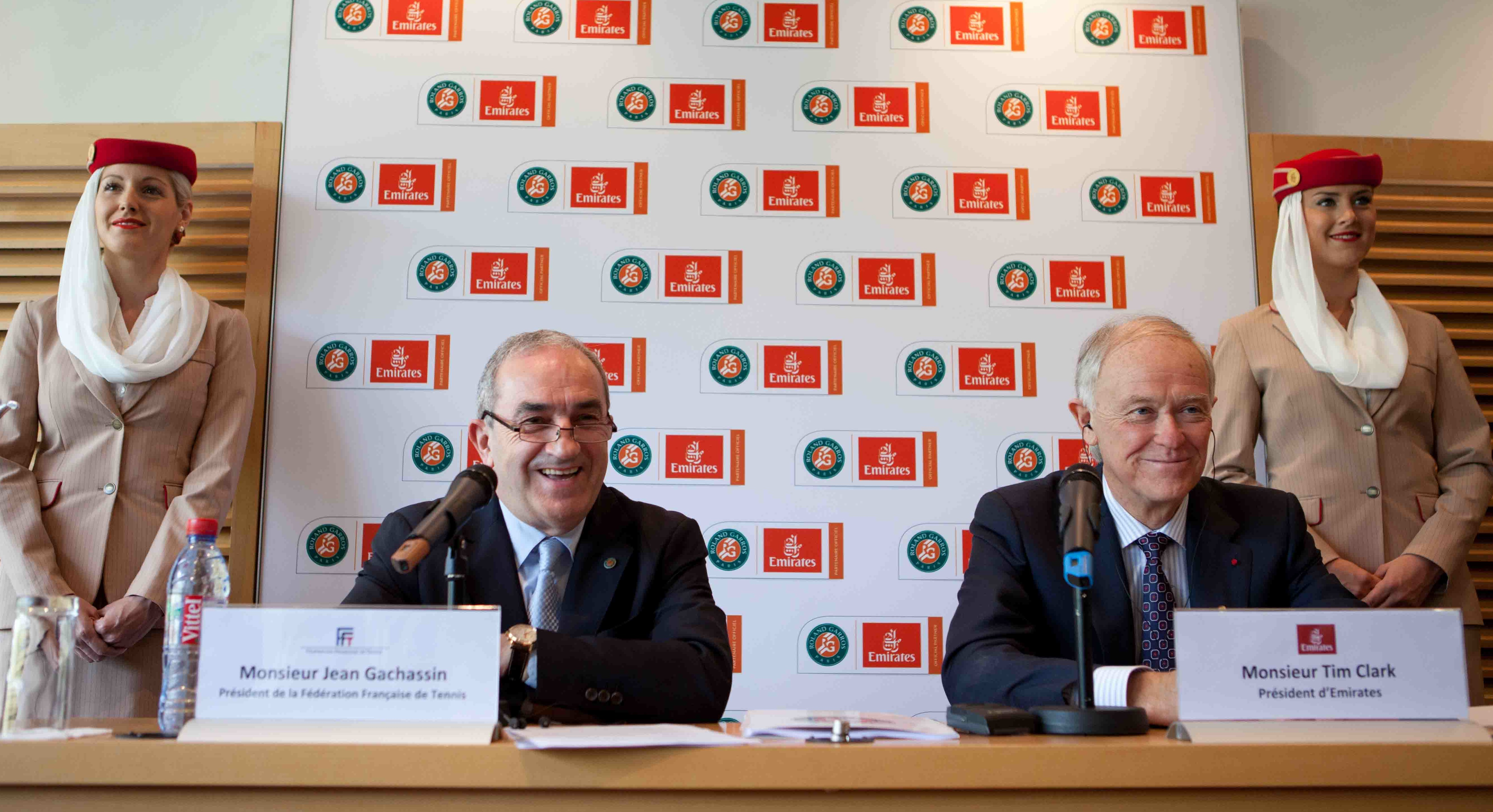 Emirates Sponsoring Roland Garros Tournament