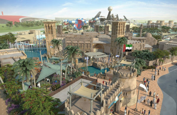 UAE's First Mega Waterpark Opens In Abu Dhabi
