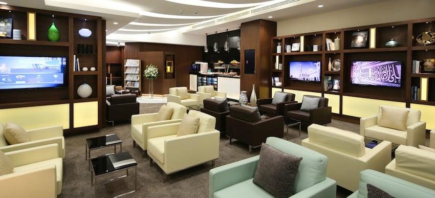 Etihad Opens Abu Dhabi Arrivals Lounge