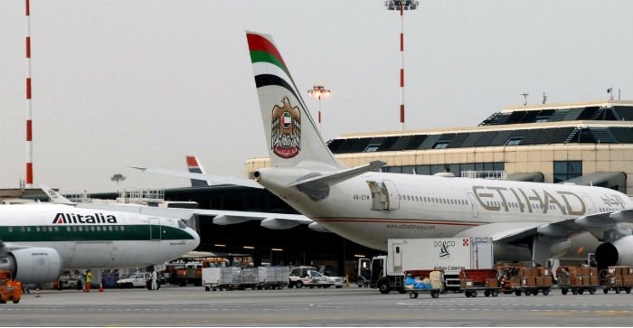 Etihad Mulls investment In Alitalia