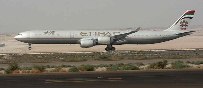 Etihad Lays On First Class To India