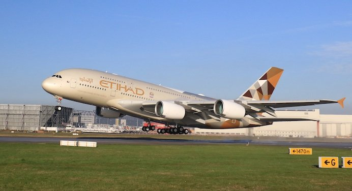 Etihad To Start Daily A380 Service To New York From December 1