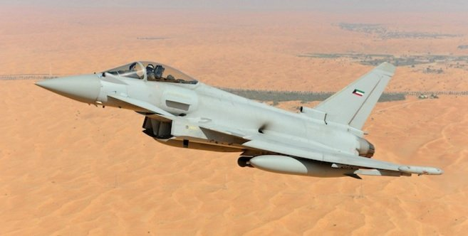 Kuwait to receive first Eurofighter Typhoon fighter jets in