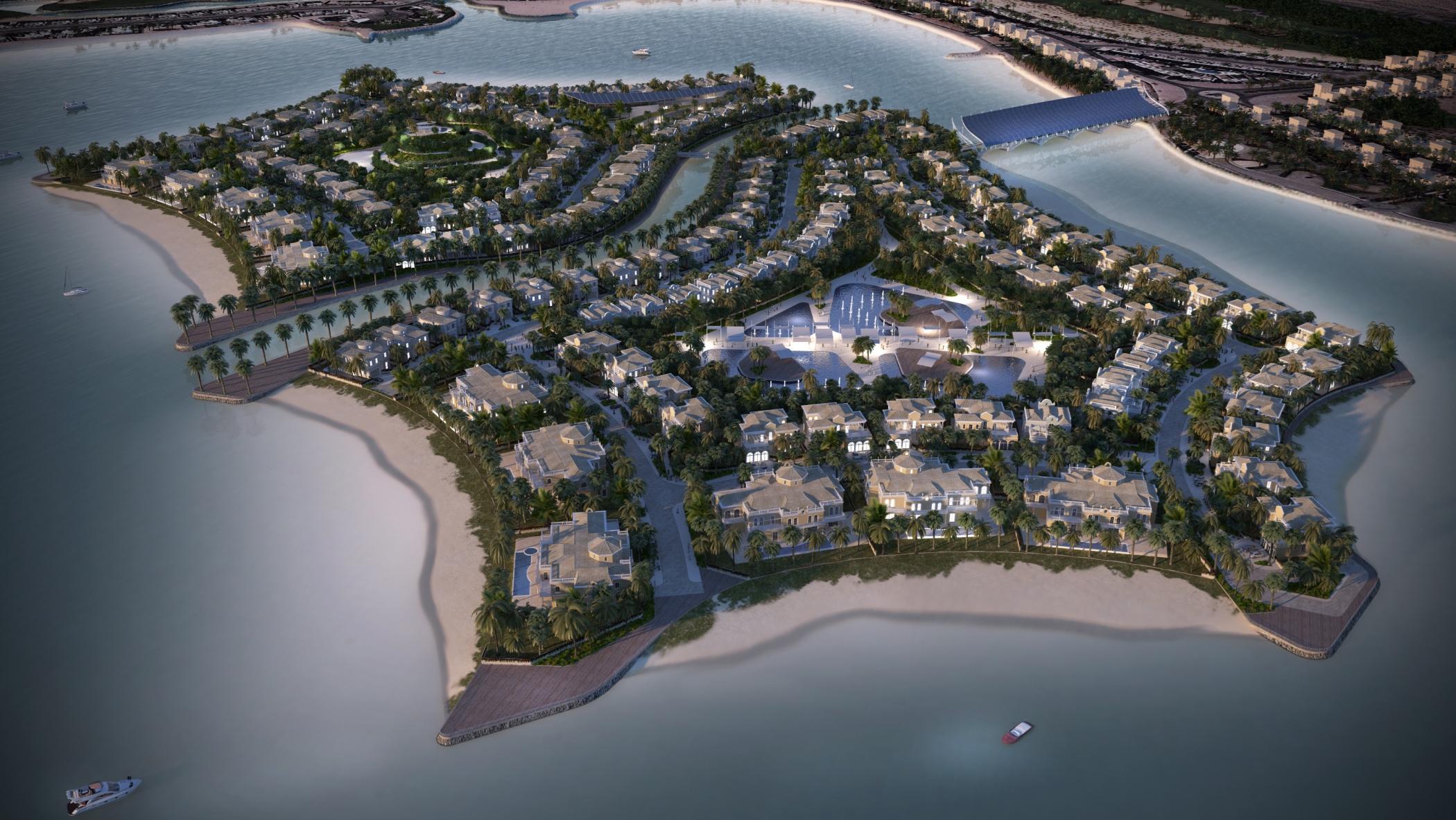 Al Hamra Unveils $164m Falcon Island Development In RAK