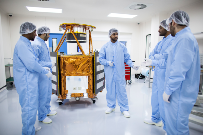 Final design of the KhalifaSat engineering model unveiled