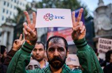 Photos of the week: Turkish channel shut down, Saudi deficit, Palestine power cuts