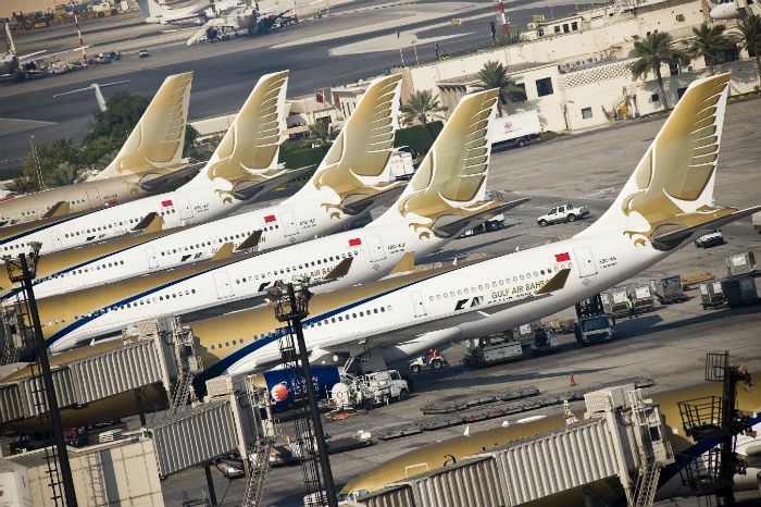 Bahrain's Gulf Air in final talks to buy 50 aircraft -CFO