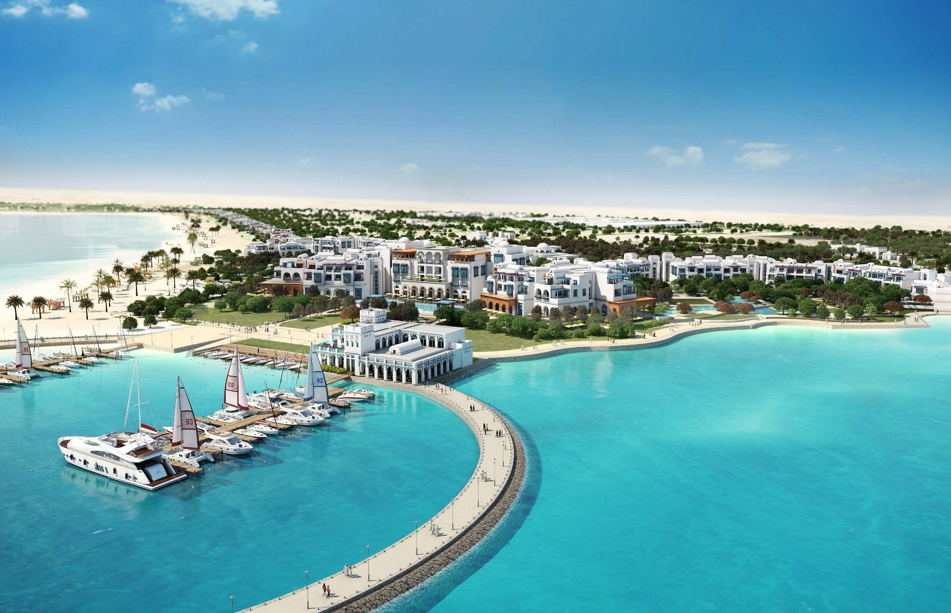 Hilton To Develop Largest Resort In The Middle East