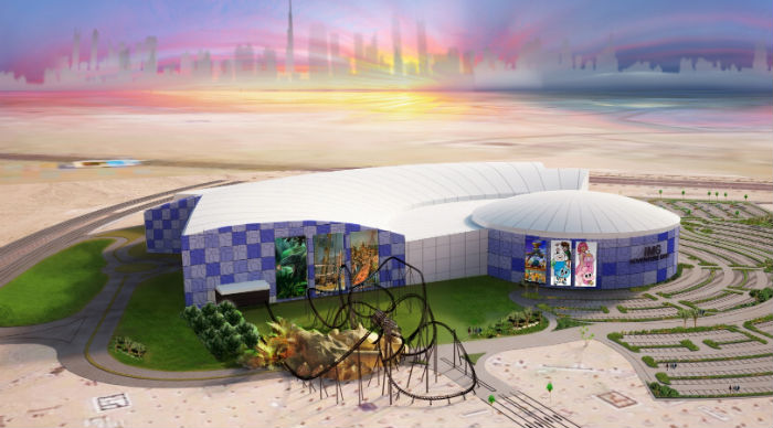 IMG Group Announce Dinosaur Concept In Dubai Theme Park