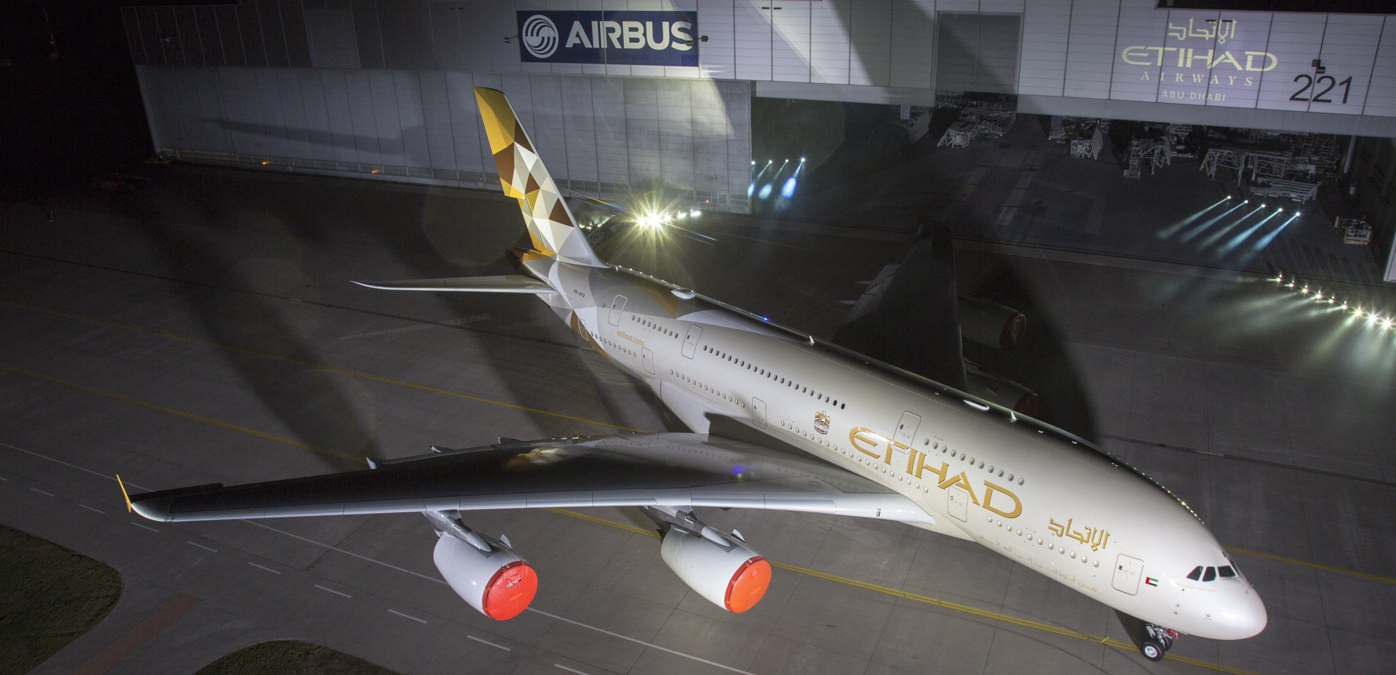 Etihad Launches First A380 And New Corporate Look