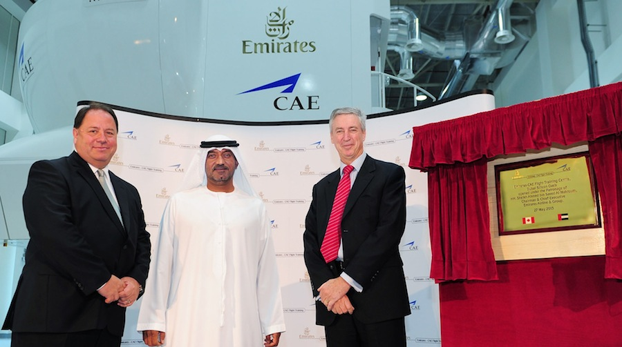 Emirates And CAE Open Second Flight Training Centre