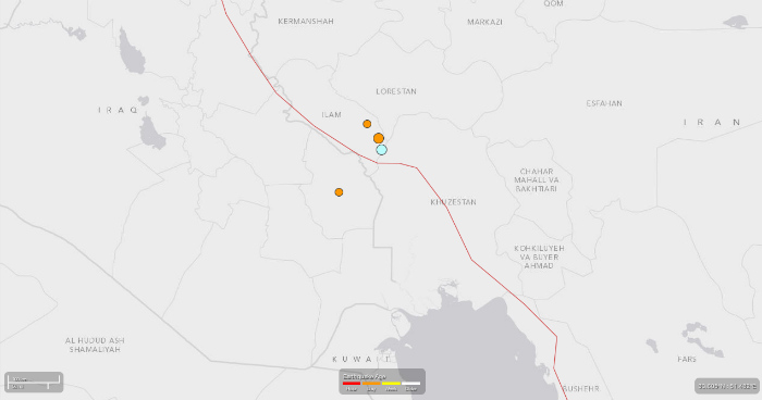 Western Iran Hit By 5.2 Magnitude Earthquake