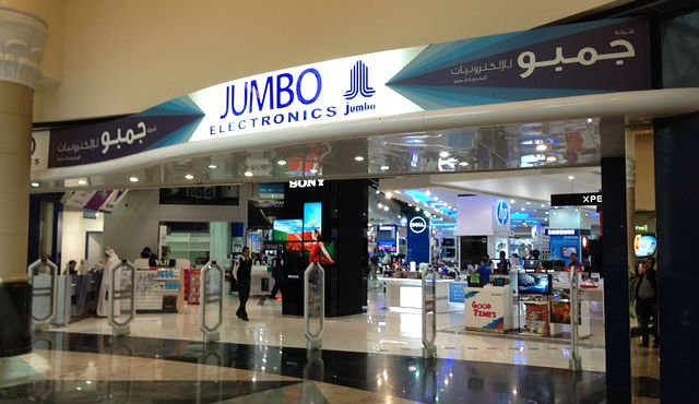 Dubai's Jumbo Electronics Launches Online Shopping Portal