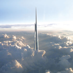 Saudi's $1.6bn Kingdom Tower Set for December 2018 Completion